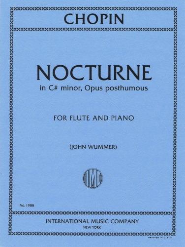 NOCTURNE No.20 in C# minor, Op. Posth.