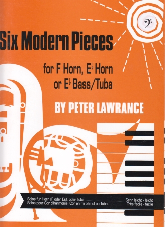 SIX MODERN PIECES bass clef