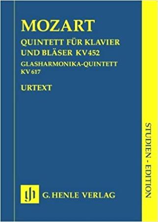 QUINTET in Eb major KV 452 (study score)