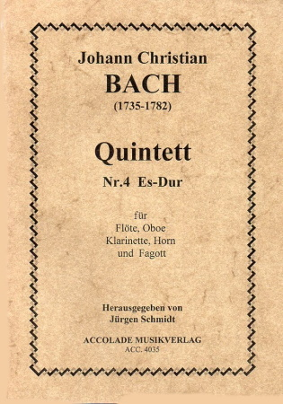 QUINTET No.4 Eb major score & parts