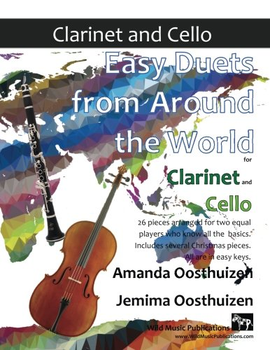 EASY DUETS FROM AROUND THE WORLD for Clarinet & Cello