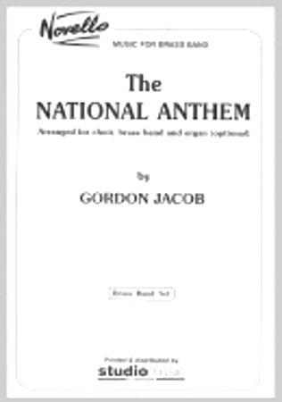 NATIONAL ANTHEM (score & parts)