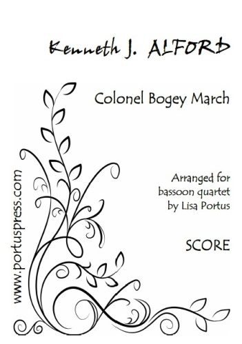 COLONEL BOGEY MARCH (score & parts)
