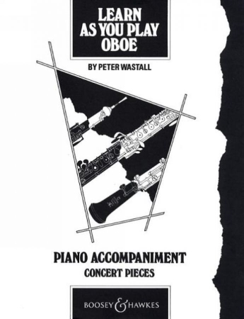 LEARN AS YOU PLAY OBOE Piano Accompaniment