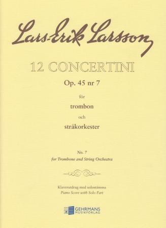 CONCERTINO Op.45 No.7
