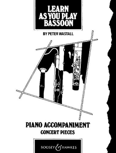 LEARN AS YOU PLAY BASSOON Piano Accompaniment