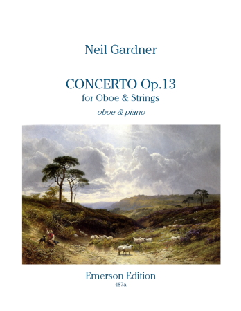 CONCERTO for Oboe & Strings Op.13 (score & parts)