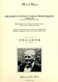 GRANDES ETUDES CARACTERISTIQUES - Berbiguer