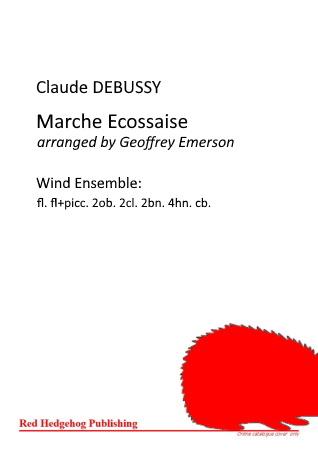 MARCH ECOSSAISE score & parts