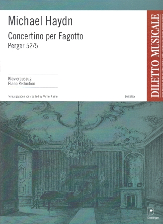 CONCERTINO FOR BASSOON Perger 52/5