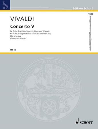 CONCERTO V in F major Op.10 No.5, RV434