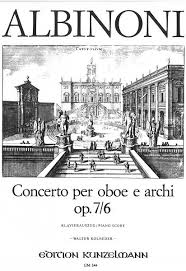 CONCERTO Op.7 No.6 in D major