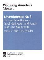 DIVERTIMENTO No.3 KV229 (439b)