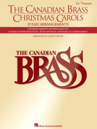 THE CANADIAN BRASS CHRISTMAS CAROLS 1st Trumpet
