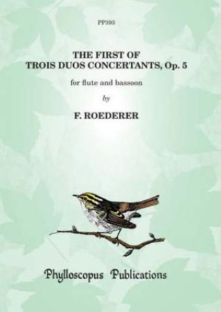 TROIS DUOS CONCERTANTS Op.5 No.1 (score & parts)