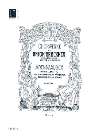 ABENDZAUBER (needs a yodeller) vocal/piano score