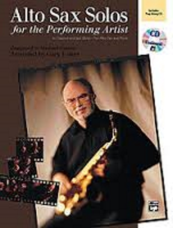 ALTO SAX SOLOS for the Performing Artist + CD