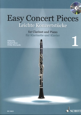 EASY CONCERT PIECES + CD