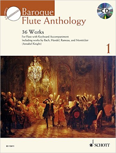 BAROQUE FLUTE ANTHOLOGY Volume 1 + CD