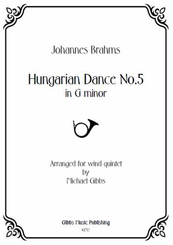 HUNGARIAN DANCE No.5 (score & parts)
