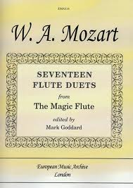 SEVENTEEN FLUTE DUETS from The Magic Flute