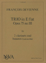 TRIO in Eb major Op.75 No.3