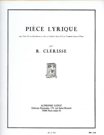 PIECE LYRIQUE