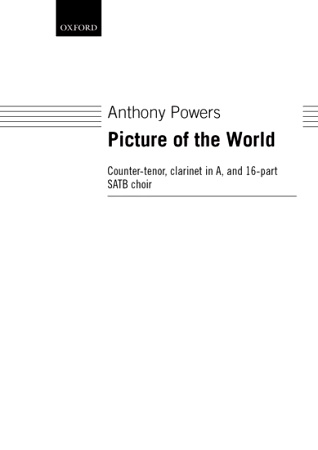 A PICTURE OF THE WORLD (EIN BILD DER WELT) (vocal score)