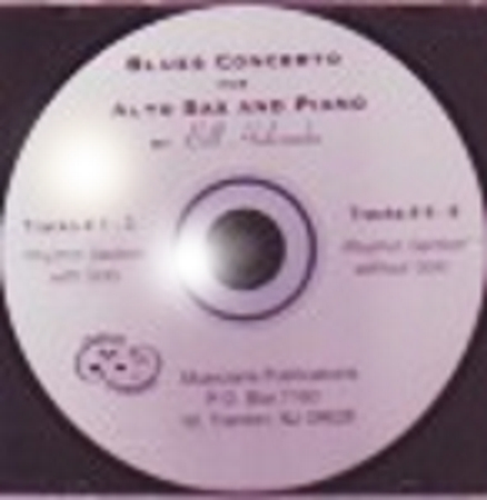 BLUES CONCERTO Accompaniment CD