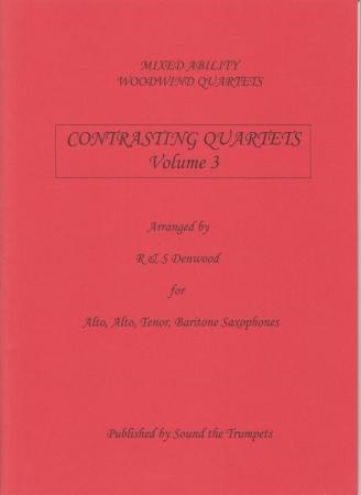 CONTRASTING QUARTETS Volume 3