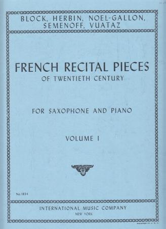 CONTEMPORARY FRENCH RECITAL PIECES Volume 1