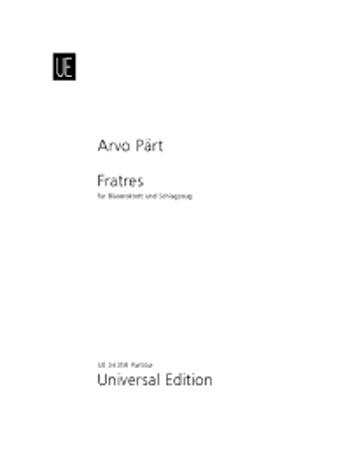 FRATRES (1977/2008) score