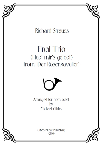 FINAL TRIO Hab' mir's gelobt (score & parts)