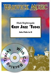 EASY JAZZY 'TUDES for Flute + CD