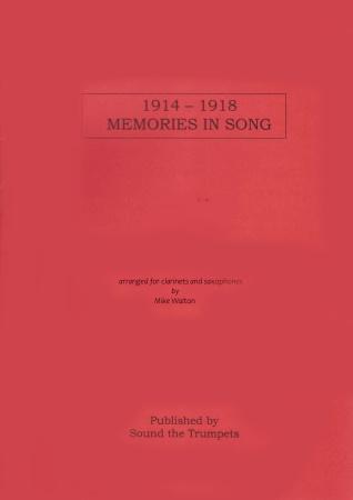 1914-1918 MEMORIES IN SONG