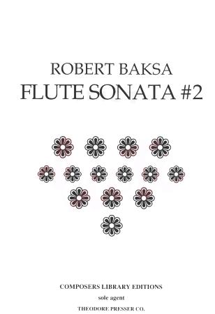 FLUTE SONATA No.2