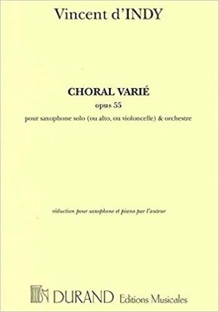 CHORAL VARIEE Op.55