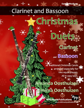 CHRISTMAS DUETS for Clarinet & Bassoon