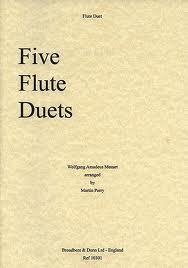 FIVE FLUTE DUETS