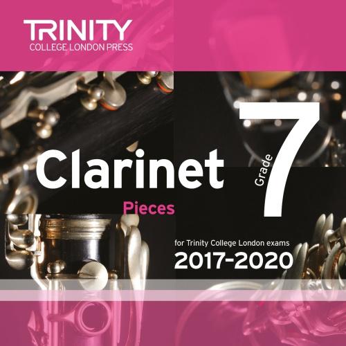 CLARINET PIECES 2017-2020 Grade 7 CD