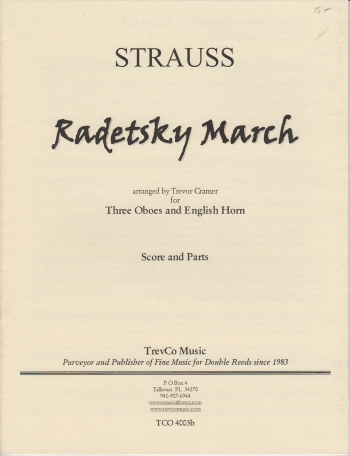 RADETZKY MARCH (score & parts)