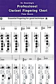 PROFESSIONAL CLARINET FINGERING CHART