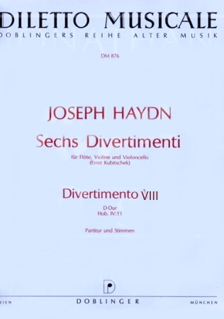 DIVERTIMENTO No.8 in D