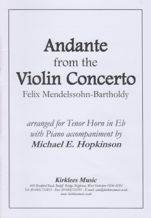 ANDANTE from the Violin Concerto