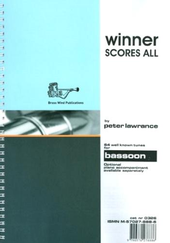 WINNER SCORES ALL Bassoon Part