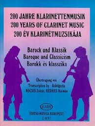 200 YEARS OF CLARINET MUSIC Baroque & Classicism