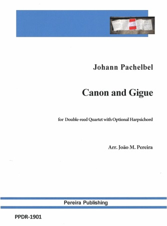 CANON AND GIGUE (score & parts)