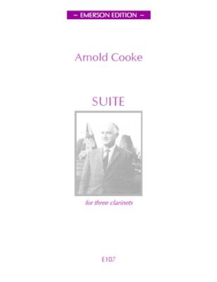 SUITE FOR THREE CLARINETS score & parts