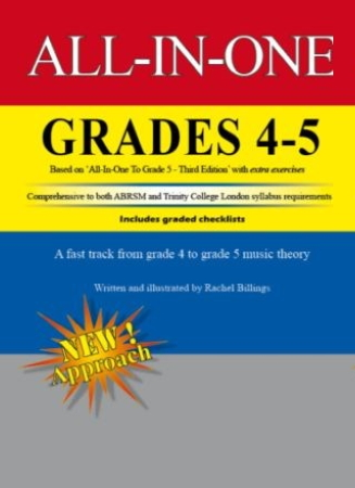ALL-IN-ONE Music Theory Grades 4-5