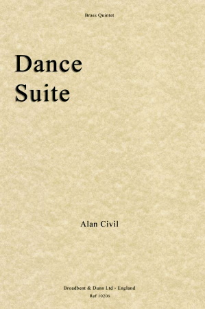 DANCE SUITE (score & parts)